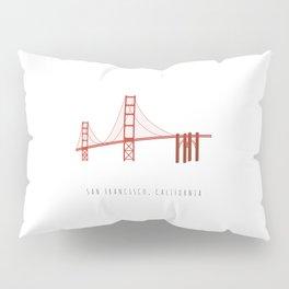 Golden Gate Bridge, San Francisco, California Pillow Sham