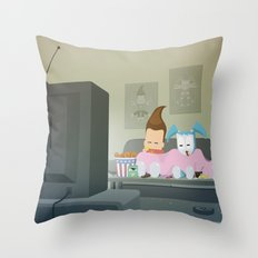 The Nick Yorkers in November Throw Pillow