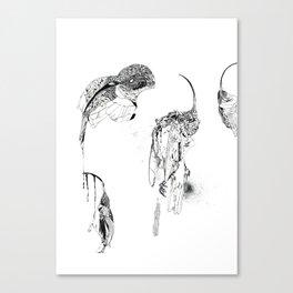 Extinction part1 Canvas Print