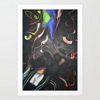 Dark Matters Art Print