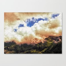 Morning on Fire Canvas Print