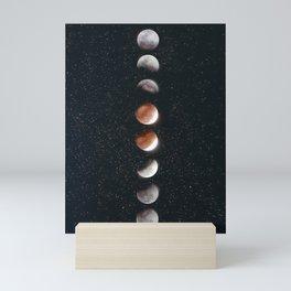 Phases of the Moon II Mini Art Print
