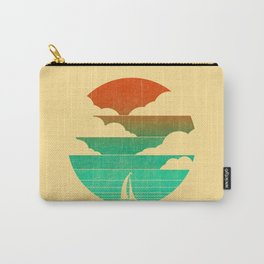 Go West (sail away in my boat) Carry-All Pouch