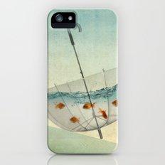 precarious position iPhone (5, 5s) Slim Case