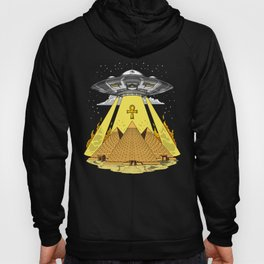 Alien Abduction Egyptian Pyramids Anunnaki UFO Hoody