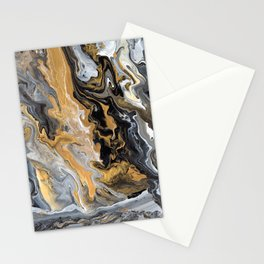 Gold Vein Marble Stationery Cards