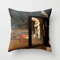 No Return Throw Pillow