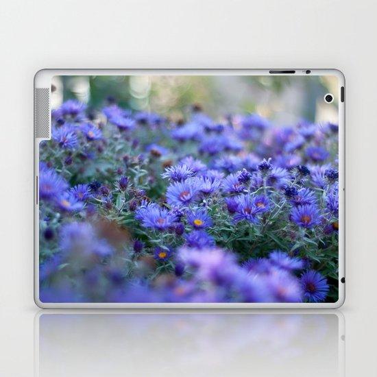 Sea of Asters Laptop & iPad Skin