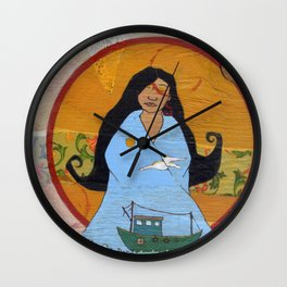Sea Vision Wall Clock
