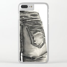 Jeans Clear iPhone Case