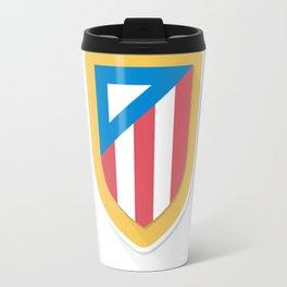Atletico Madrid FC Design Travel Mug