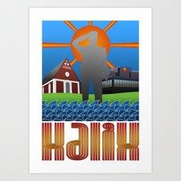 Kalix summer Art Print
