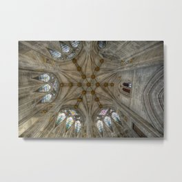 St Mary's Ceiling Metal Print
