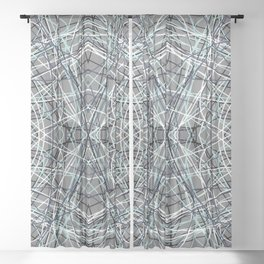 Shades of Gray Gallu Sheer Curtain