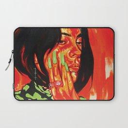 The Fabulous Billie E. Portrait Laptop Sleeve
