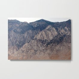 Mountain Layers (Eastern Sierra Nevadas, California) Metal Print