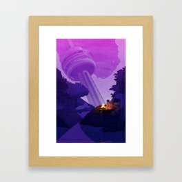 Earth Colony Orchestra 2 Framed Art Print