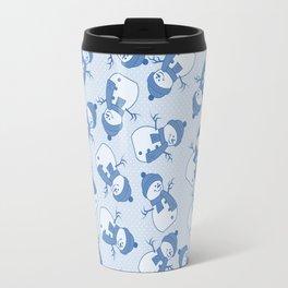 C1.3 snowman pattern Travel Mug