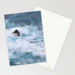 Pintando con olas Stationery Cards