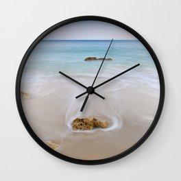 """""""Serenity"""". Looking at the sea.... Wall Clock"""
