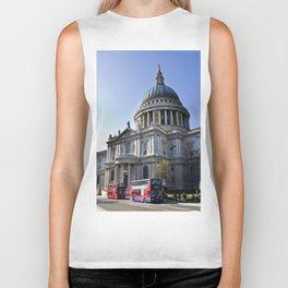 St Paul's Cathedral London Biker Tank