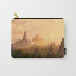 Bagan Myanmar Carry-All Pouch