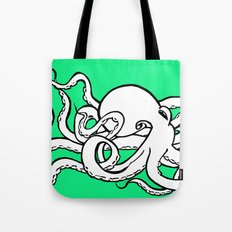 8 Arms in Motion Tote Bag