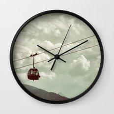 Ropeway Wall Clock