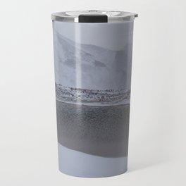 Frozen lagoon Travel Mug