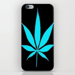 Weed : High Time Blue iPhone Skin