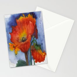 Flowers  Emerged Stationery Cards