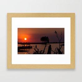 Botswana Framed Art Print