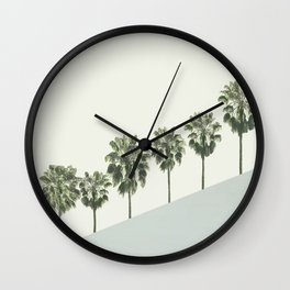 Palm Trees 4 Wall Clock