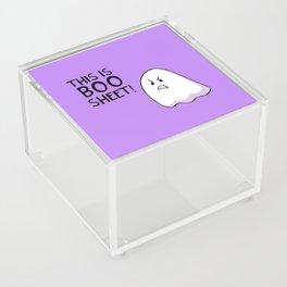 Grumpy Ghost Acrylic Box