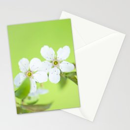 Cherry blossom tree in the green Stationery Cards