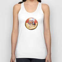 theatre Tank Tops featuring Theatre by Vargamari
