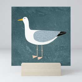 Seagull Standing Mini Art Print