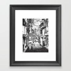 Kyoto Noodles Framed Art Print