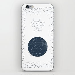 more than all the stars iPhone Skin