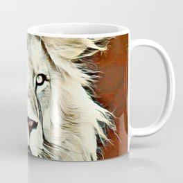 Warm colored Lion King Coffee Mug