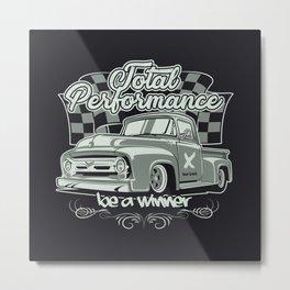 Classic Vintage truck Metal Print