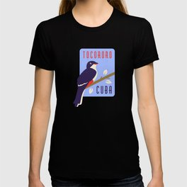 Cuba Gift Cubans Cuban Tocororo Bird T-shirt