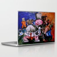 political Laptop & iPad Skins featuring Political Circus by eVol i