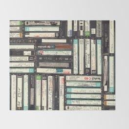Cassettes Throw Blanket