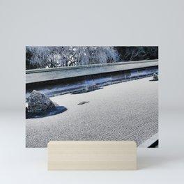 Winter Might Frost (Kyoto) Mini Art Print
