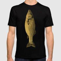 A Fish Black Mens Fitted Tee MEDIUM
