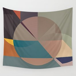 Abstract 2018 004 Wall Tapestry