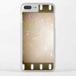 Old Film Clear iPhone Case