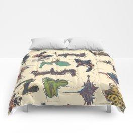 Skewed Beetles Comforters