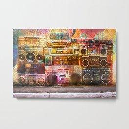 Sound Wall Metal Print